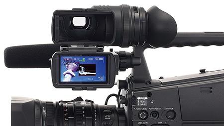 Panasonic AG-HPX600EJ - detail