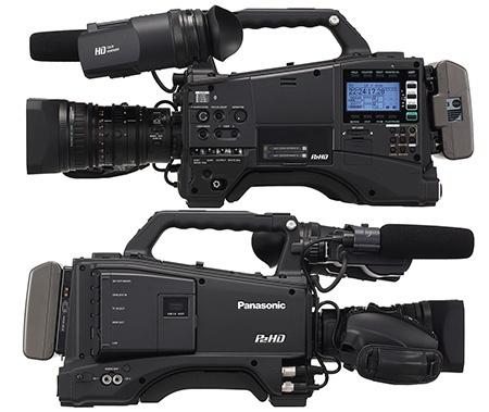 Panasonic AG-HPX600EJ - zprava/zleva