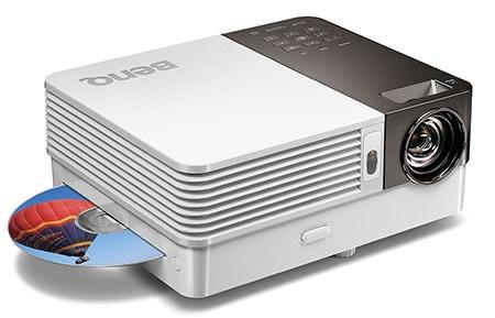 BenQ GP10 Ultra-Lite s DVD přehrávačem