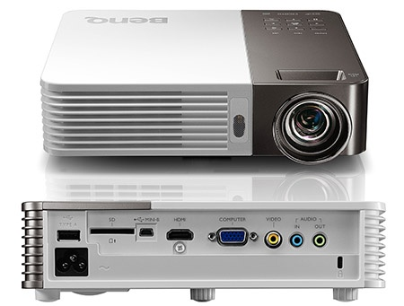 BenQ GP10 Ultra-Lite - zepředu/zezadu