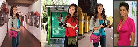 Tamrac Aria - Berry Fashion Color