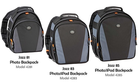 Tamrac Jazz 81, 83 a 85 – Photo a Photo/iPad Backpack