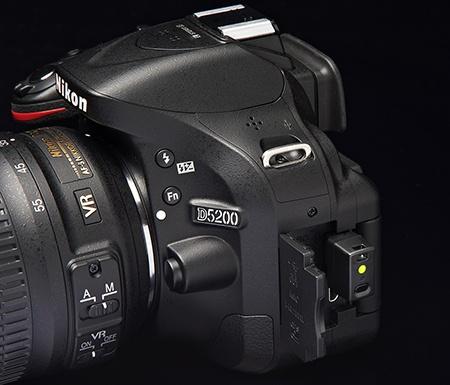 Nikon D5200 a bezdrátový Wi-Fi adaptér