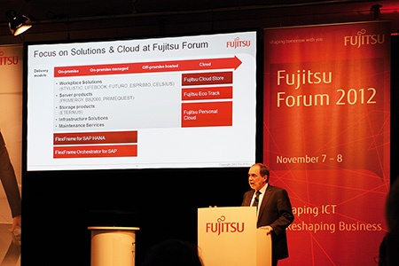Fujitsu Forum 2012 – cloud