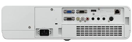 Panasonic PT-VW431D - zadní stěna s konektory
