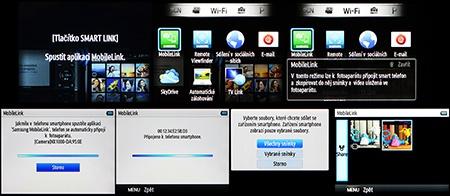 Samsung NX1000 a Wi-Fi připojení