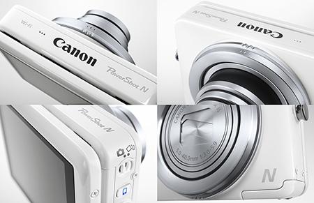 Canon PowerShot N - detaily