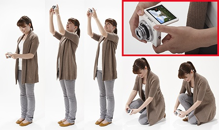 Canon PowerShot N v akci