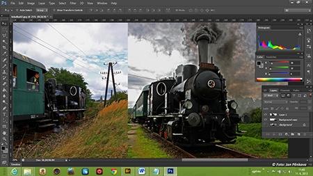 PhotoShop Tutorial 17. Křivky (CZ) - YouTube